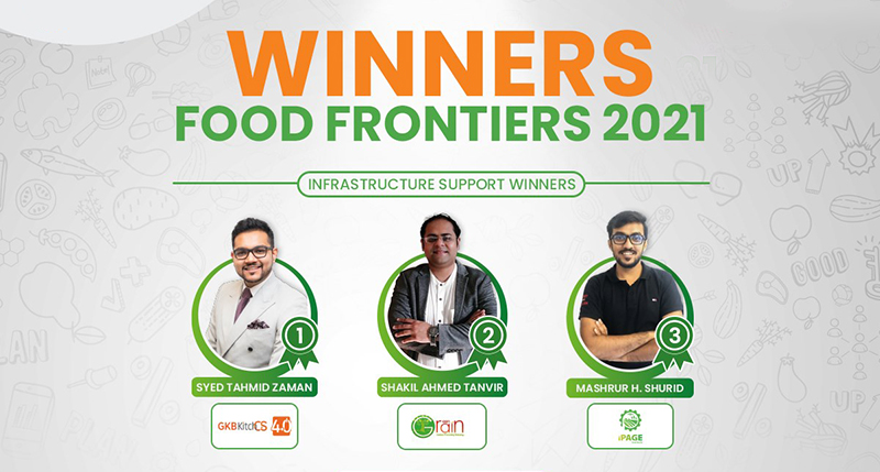 Ghost Kitchen Bangladesh wins First Prize at Food Frontiers 2021